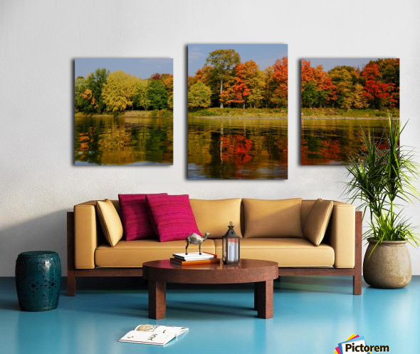 Fall in love with fall Impression sur toile