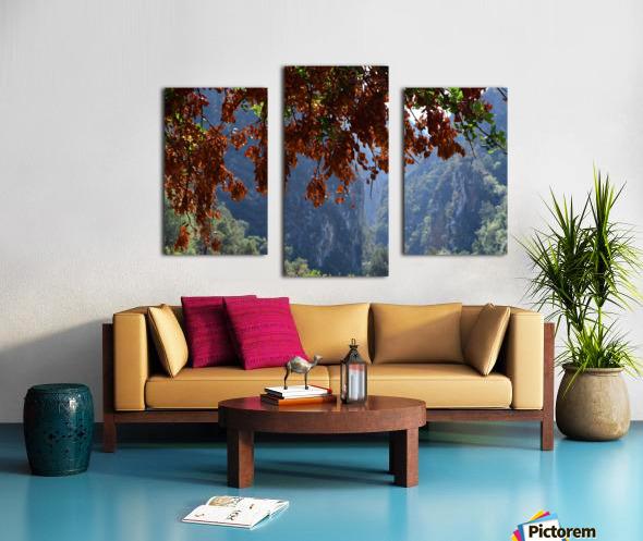 Akchour Impression sur toile