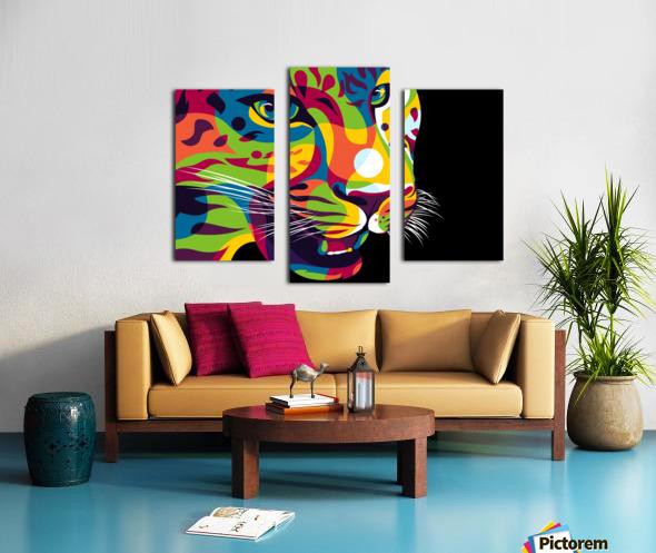 The Jaguar Gaze Canvas print