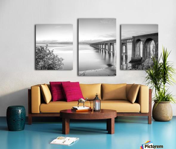 Tay Rail Bridge, Dundee, Scotland Canvas print