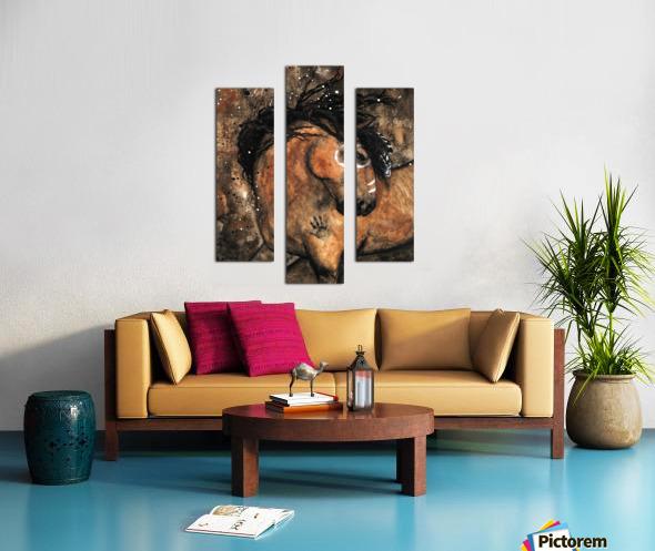 Spirit of Ancestors Horse Canvas print