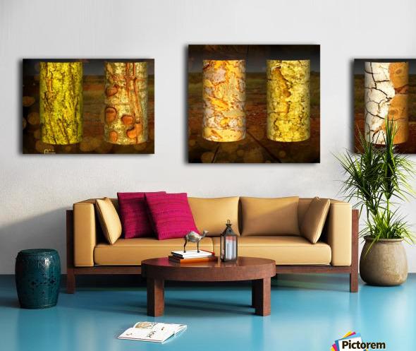 tree bark live Canvas print