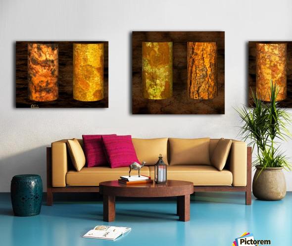 tree bark strong Canvas print