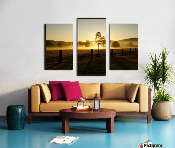 glenreagh sunrise Canvas print