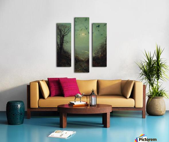 Wharfedale Canvas print