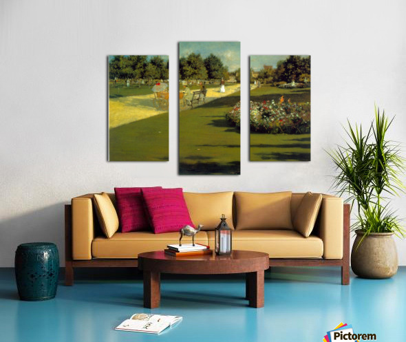 Prospect Park by Chase Canvas print