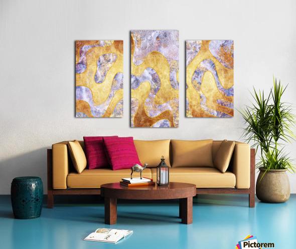 Abstract Marble XXIX Canvas print