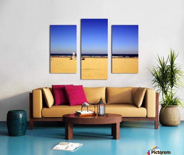 Oregon Coast   Golden Sands Canvas print