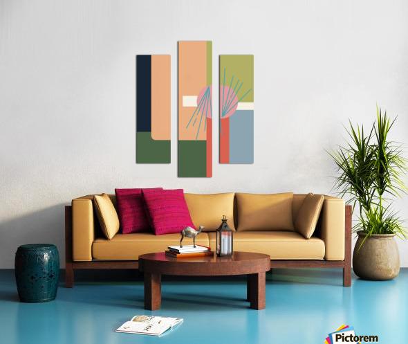 Abroad  Canvas print