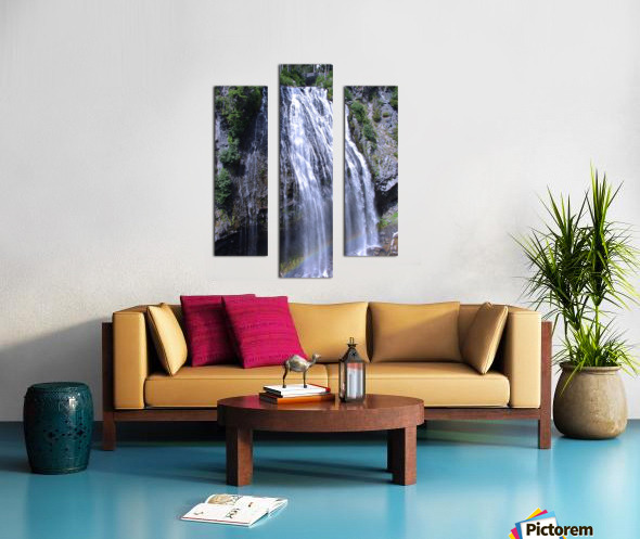 Narada Falls at Mount Rainier Pacific Northwest Canvas print