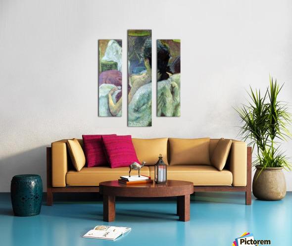 Resting Model by Toulouse-Lautrec Canvas print