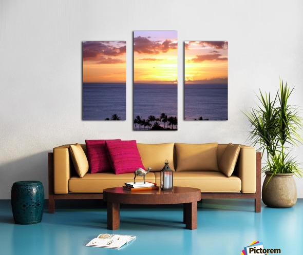 Golden Hawaii Canvas print