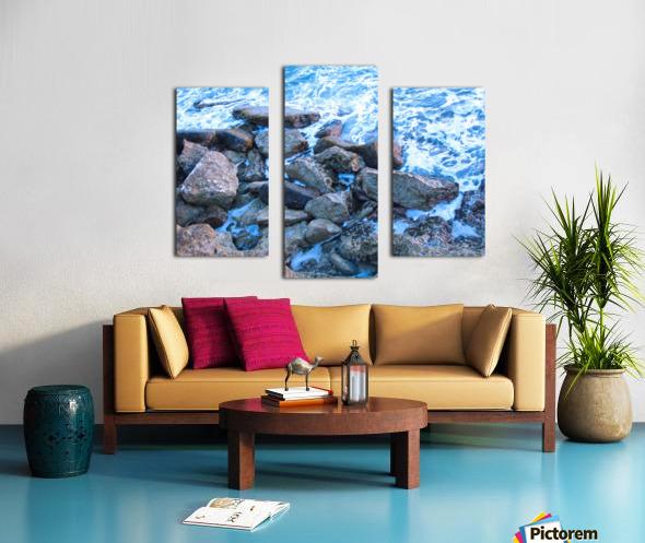 Rugged Coast Canvas print