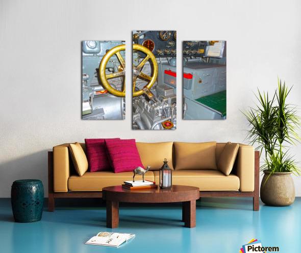 Submarine 2 Canvas print
