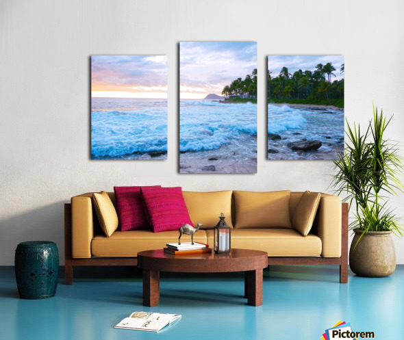 Untamed Hawaii Canvas print