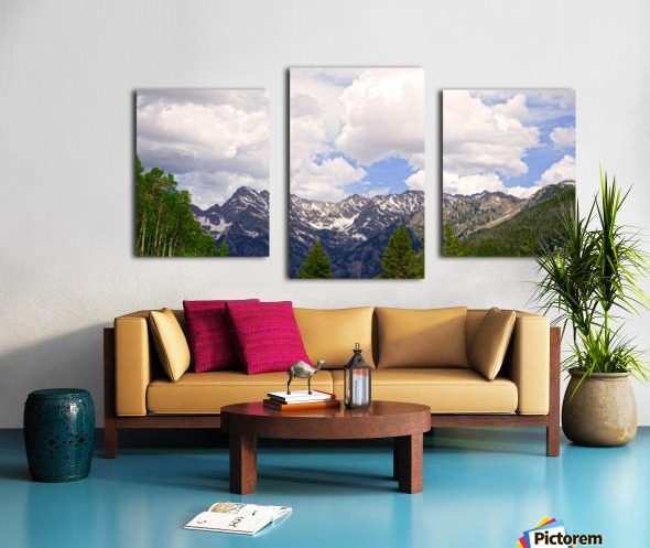 White River Country Colorado Canvas print