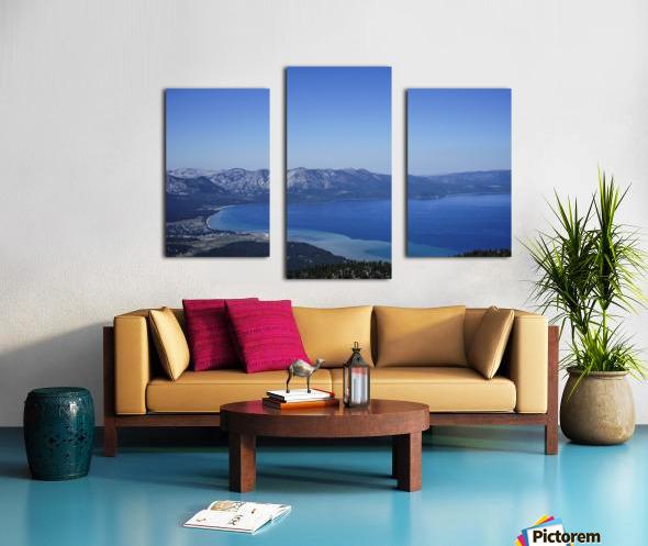 Lake Tahoe View - Tahoe California USA Canvas print