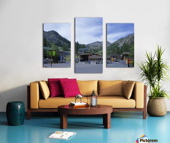 Spring at Lake Tahoe 3 of 7 Canvas print