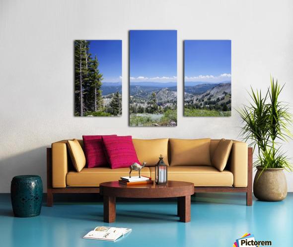 Sierra Nevada in Spring 2 of 8 Canvas print