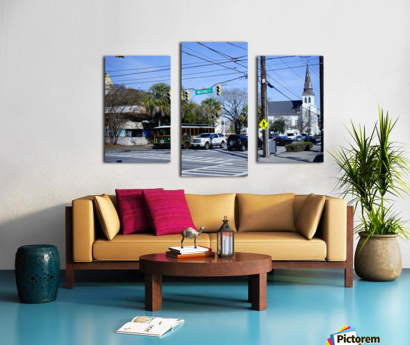 Snapshot in Time Charleston 1 of 5 Canvas print