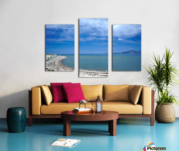 The Great Salt Lake 6 of 7 Canvas print