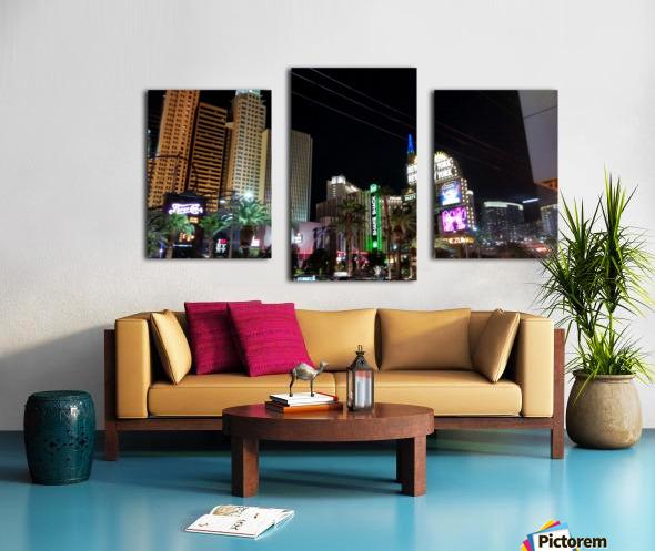 Viva Las Vegas 2 Canvas print