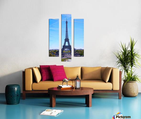 Majestic Eiffel Canvas print
