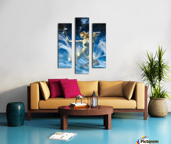 Aqua-Theatre Canvas print