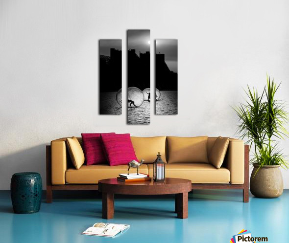 Games in a bubble Canvas print