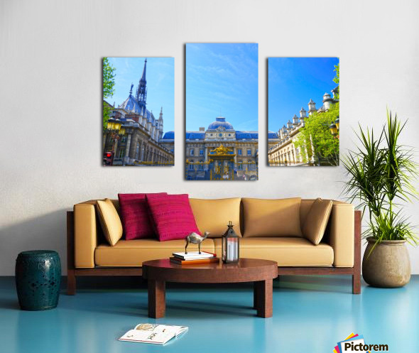 Paris Snapshot in Time 4 of 8 Canvas print
