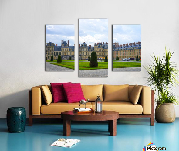 Chateaus of France 3 Canvas print