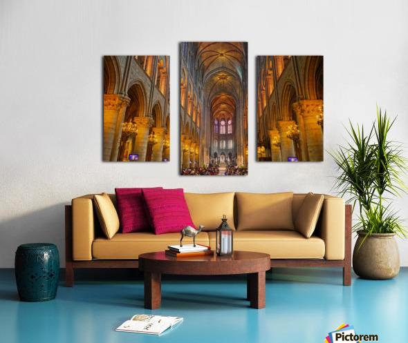 Saint Croix Cathedral France Canvas print