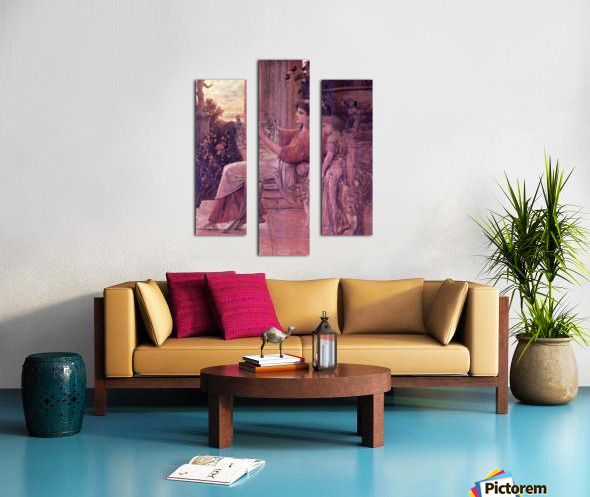 Sapho by Klimt Canvas print