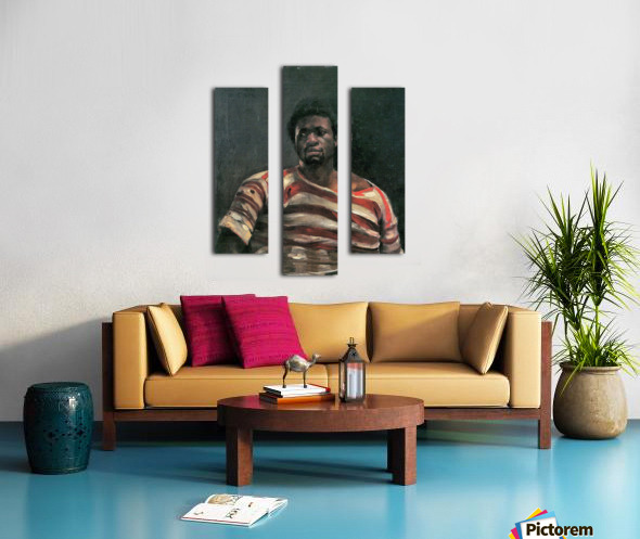Negro Othello by Lovis Corinth Canvas print