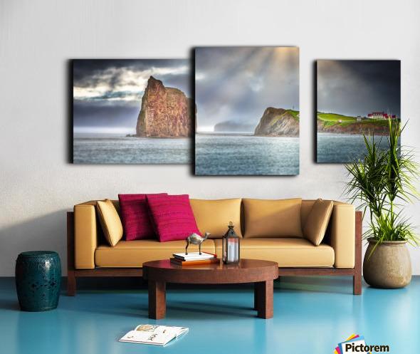 Cap Mont-Joli et son Rocher Perce Canvas print