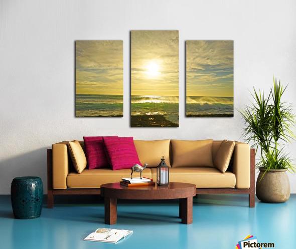 Splash - Sunset Hawaii Canvas print