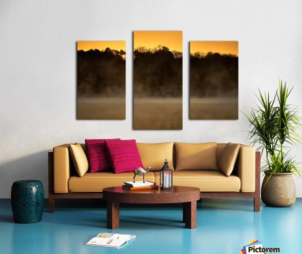 Sunrise at Langley Pond Park   Aiken SC 7R301594 12 19 20 Canvas print