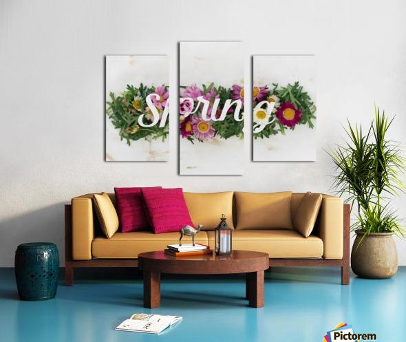 Daltana Spring Irill Canvas print