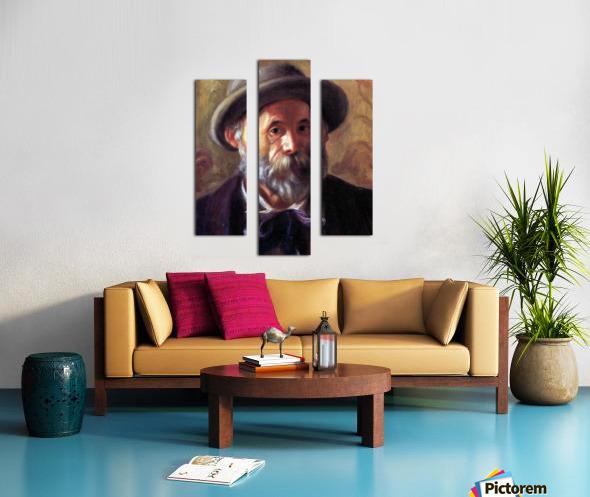 Self Portrait 1 by Renoir Canvas print