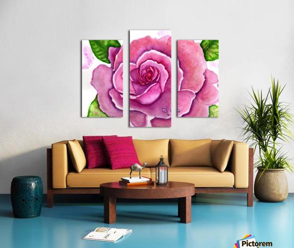 Magnificent Rose Canvas print