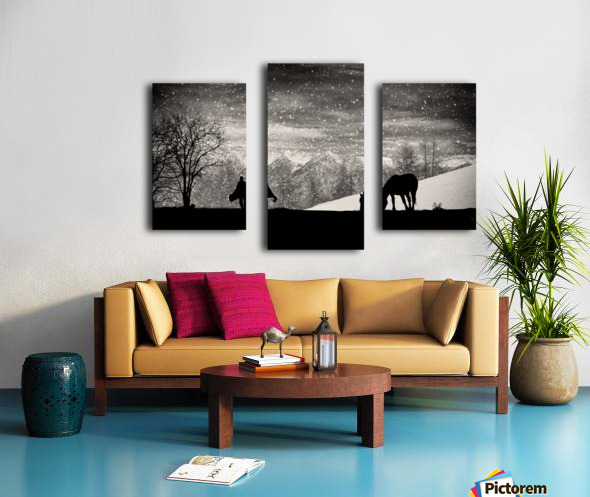 It's time to go Canvas print