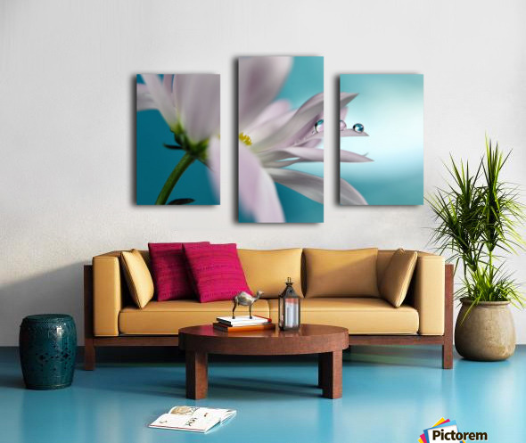 In turquoise Company Canvas print