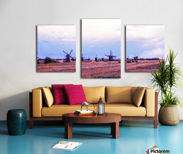 Wonderful Windmills Canvas print