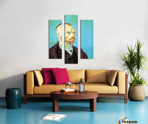 Self-Portrait Dedicated to Paul Gauguin Canvas print