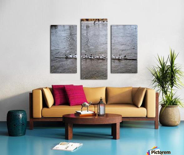 Paris Rowing 1975   2 Canvas print