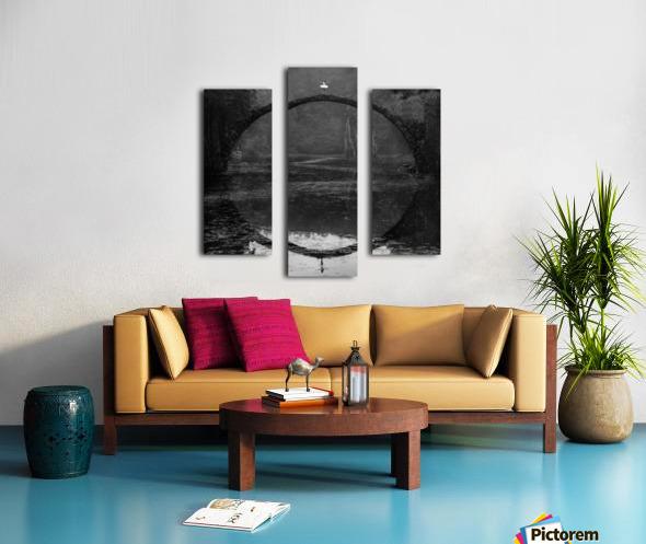 Ring Canvas print