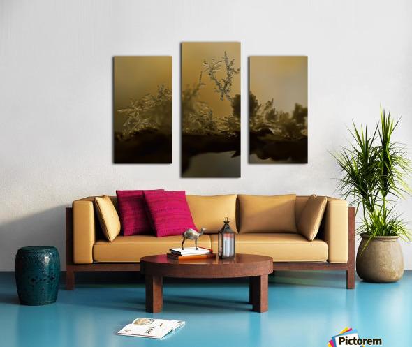 En  equilibre Canvas print