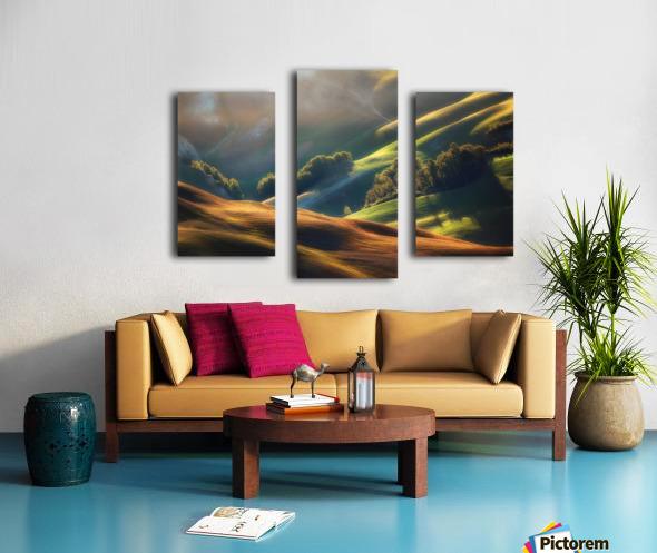 Tuscany Sunrise Canvas print