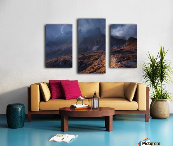 Bergwetter Canvas print