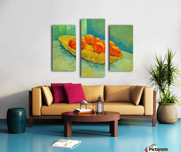 Six Oranges by Van Gogh Canvas print